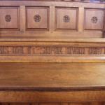 French oak Gothic Revival servery