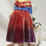 Royal Worcester figure Old Goat Woman by Phoebe Stabler
